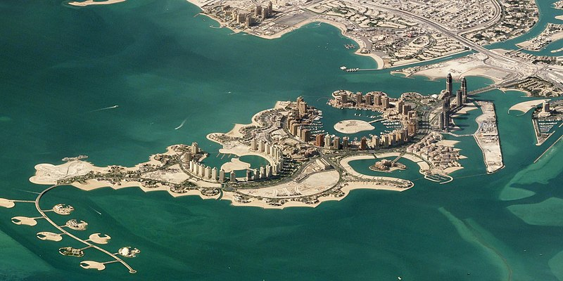 Pearl Doha residential development Credit: Creative Commons