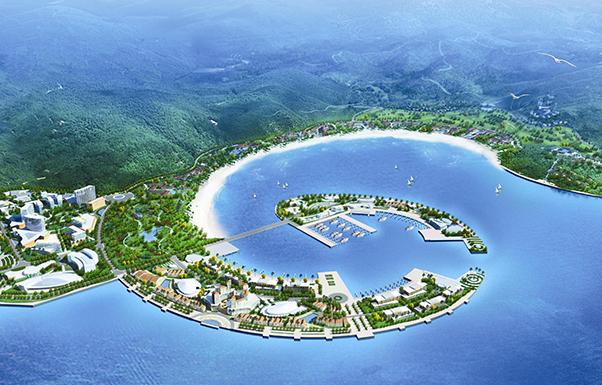 Luxury Resort masterplanning Credit: TOWNLAND HONG KONG
